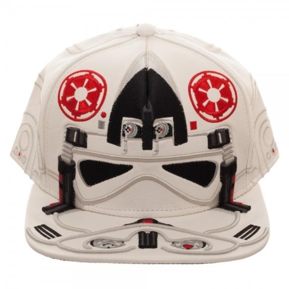 2020d2b93a6 Star Wars AT-AT Driver Big Face Snapback